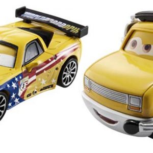 Disney Pixar Cars Collector Die-cast Jeff Gorvette & John Lassetire 2-Pack