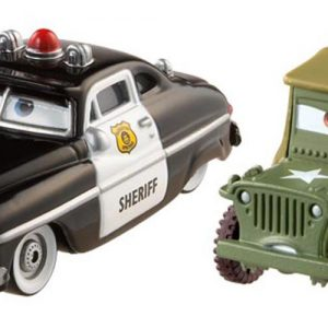 Disney Pixar Cars Collector Die-cast Sheriff & Sarge 2-Pack