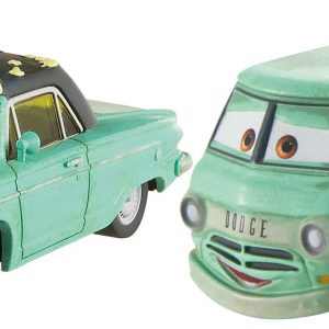 Disney Pixar Cars Diecast Character Car 2-Pack, Rusty & Dusty