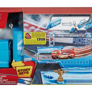 Disney Pixar Cars Drop and Jump Gray Playset