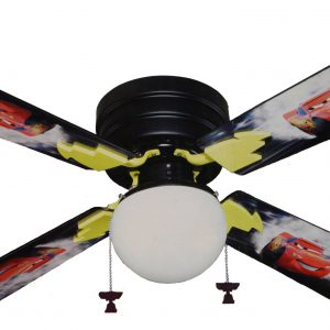 "Disney Pixar Cars - Lightning McQueen - 42"" Ceiling Fan with Light"