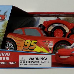 Disney Pixar Cars Lightning Mcqueen Radio Control Car