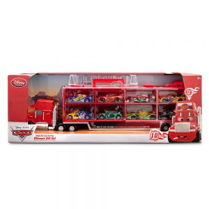 Disney Pixar Cars Mack Die Cast Ultimate Carrier Gift Set [8 Cars + Mack Truck & Trailer]