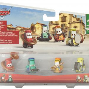Disney Pixar Cars Pitties (Accordian and Mandolin) and (Tuba and Base) Diecast Vehicle
