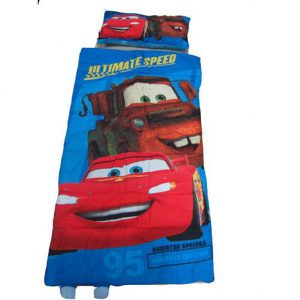 Disney Pixar Cars Slumber Bag and Pillow Set - Sleepover Set