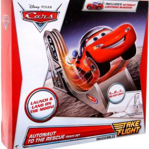 Disney Pixar Cars Take Flight Autonaut to The Rescue Track Set
