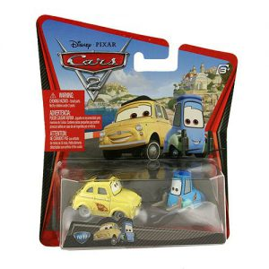 Disney Pixars Cars 2 Movie 155 Die Cast Car #10 11 Guido Luigi by Mattel