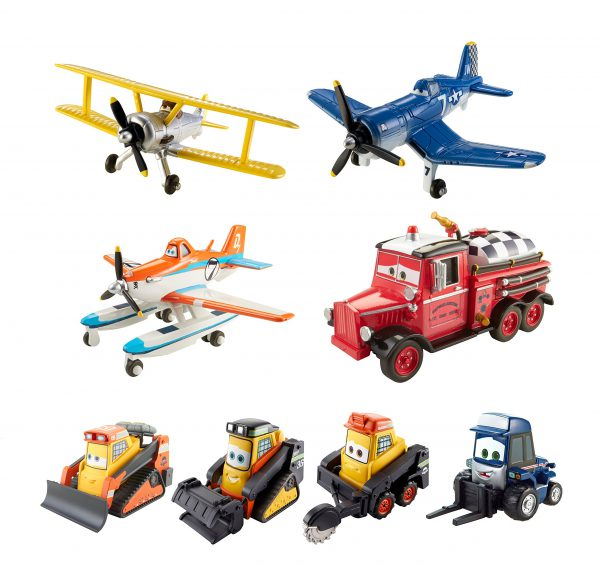 Disney Planes: Fire & Rescue Die-cast Vehicle Collection Bundle