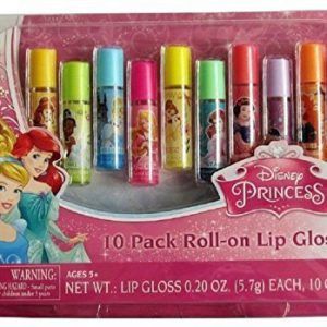 Disney Princess 10 Pack Roll-on Lip Gloss