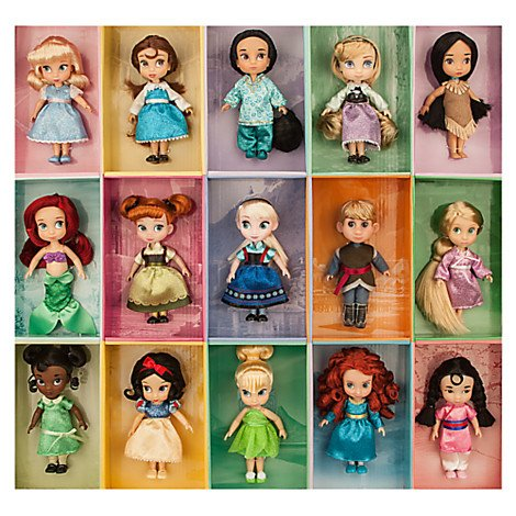 "Disney Princess Animators Collection 6"" Mini Doll Gift Set"