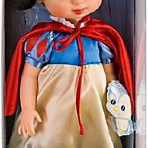 Disney Princess Animators' Collection Toddler Doll 16'' H - Snow White with Plush Friend Bluebird