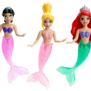 Disney Princess Ariel and Her Sisters Playset, 3-Pack