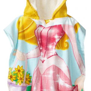 Disney Princess Aurora Hooded Bath/Beach Poncho Towel