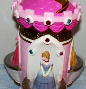 Disney Princess Castle Bank Cinderella Belle Sleeping Beauty