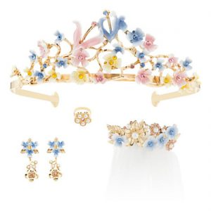 Disney Princess Cinderella Film Collection Wedding Accessory Set [Live Action Version]