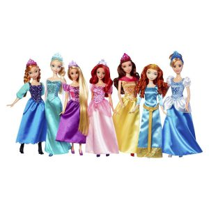 Disney Princess Collection 2014 7 Doll Pack