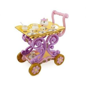 Disney Princess Exclusive Belle Magical Tea Cart Play Set