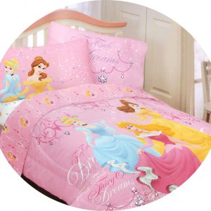 Disney Princess Fairy Dreams 4pc Cinderella Full Bed Sheets Set