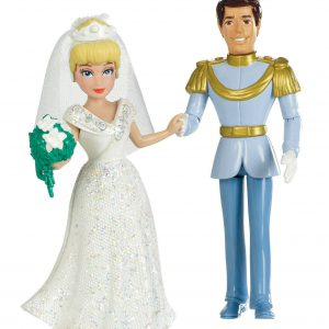 Disney Princess Fairytale Wedding Cinderella and Prince Charming Doll Set