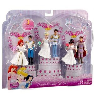 Disney Princess Fairytale Wedding Gift Set Figures