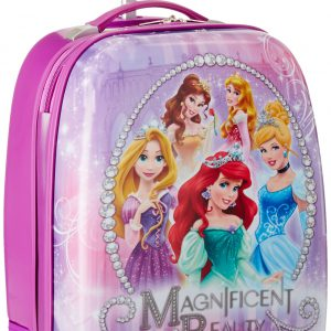 Disney Princess Hard Shell Luggage, Purple, One Size