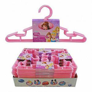 Disney Princess Kids Clothes Hangers (Set of 12)