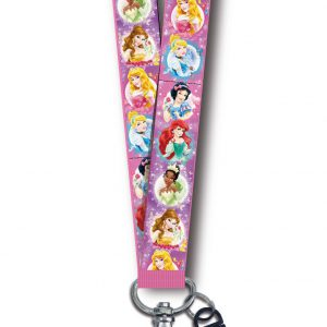 Disney Princess Lanyard with Card Holder