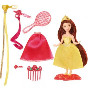 Disney Princess Little Kingdom Hairplay Belle Doll
