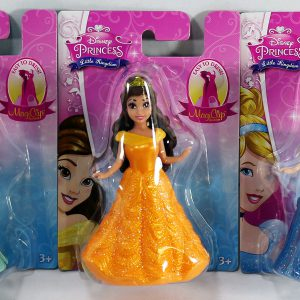 Disney Princess Little Kingdom MagiClip Doll Set of 3 - Belle, Ariel & Cinderella