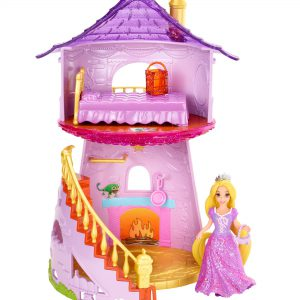 Disney Princess Little Kingdom MagiClip Rapunzel Playset