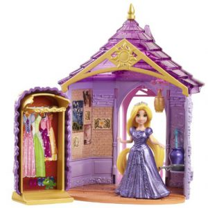 Disney Princess Little Kingdom Magiclip Rapunzel Room Playset