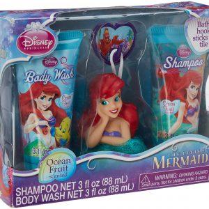 Disney Princess Little Mermaid Soap & Scrub Set