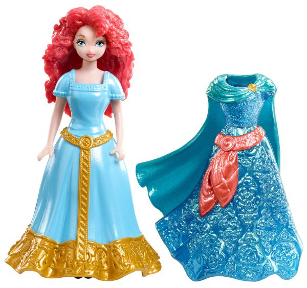 Disney Princess Magiclip Merida Doll and Fashion