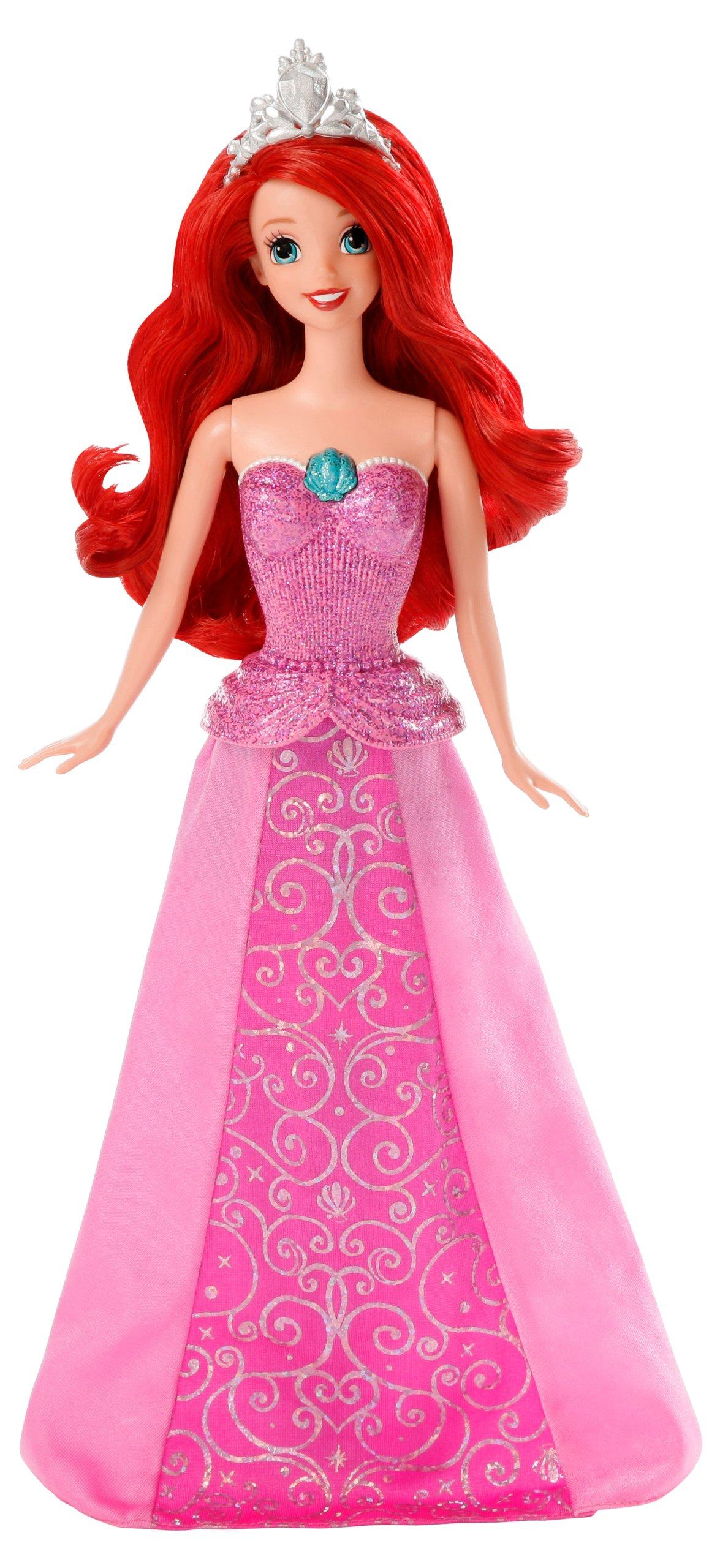 Disney Princess Mermaid to Princess Singing Ariel Doll ...