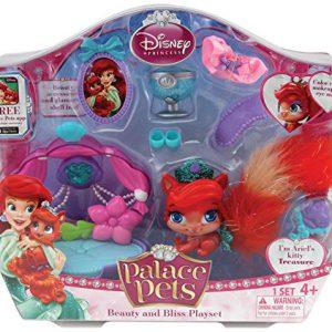 Disney Princess Palace Pets Beauty and Bliss Playset Ariel Treasure Doll