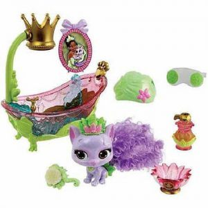 Disney Princess Palace Pets - Beauty and Bliss Playset (Tiana's Kitty, Lily)