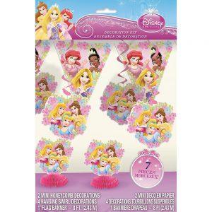 Disney Princess Party Decoration Kit, 7pc