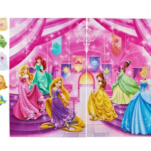 Disney Princess Photo Kit, Backdrop and Props, Party Supplies