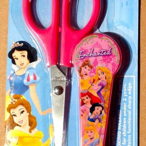 Disney Princess Pink Children's Scissors with Snow White, Ariel, Belle, Rapunzel