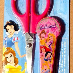 Disney Princess Pink Children's Scissors with Snow White, Ariel, Belle, Rapunzel
