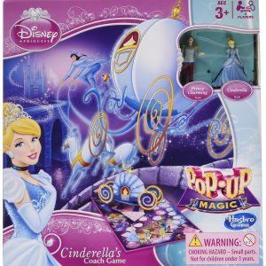 Disney Princess Pop-Up Magic Cinderella's Coach Game