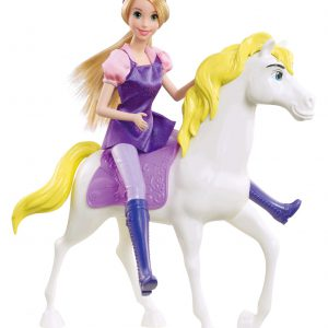 Disney Princess Rapunzel Horse Figure