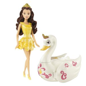 Disney Princess Royal Bath Belle Doll and Salon Gift Set