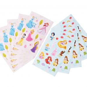 Disney Princess Sticker Pad, 10 Pages,  Party Supplies