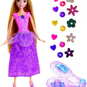 Disney Princess Tangled Gem Hair Styler Rapunzel Doll
