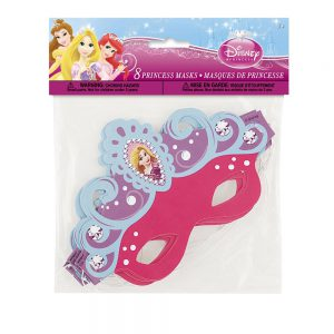 Disney Princess Tangled Party Masks, 8ct