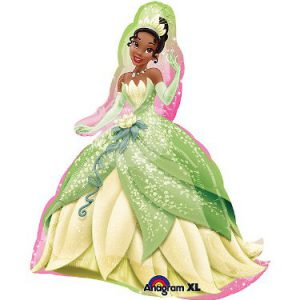 "Disney Princess Tiana Super Shape 27"" Mylar Foil Balloon"
