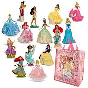 Disney Princesses Mini-figure Play Sets 1 & 2 and Tote Bag