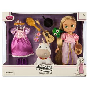 Disney - Rapunzel Doll Gift Set - Disney Animators' Collection - NEW