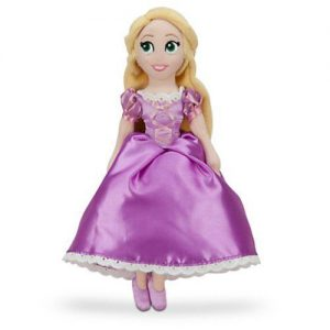 Disney Rapunzel Mini Bean Bag Plush Doll - 12